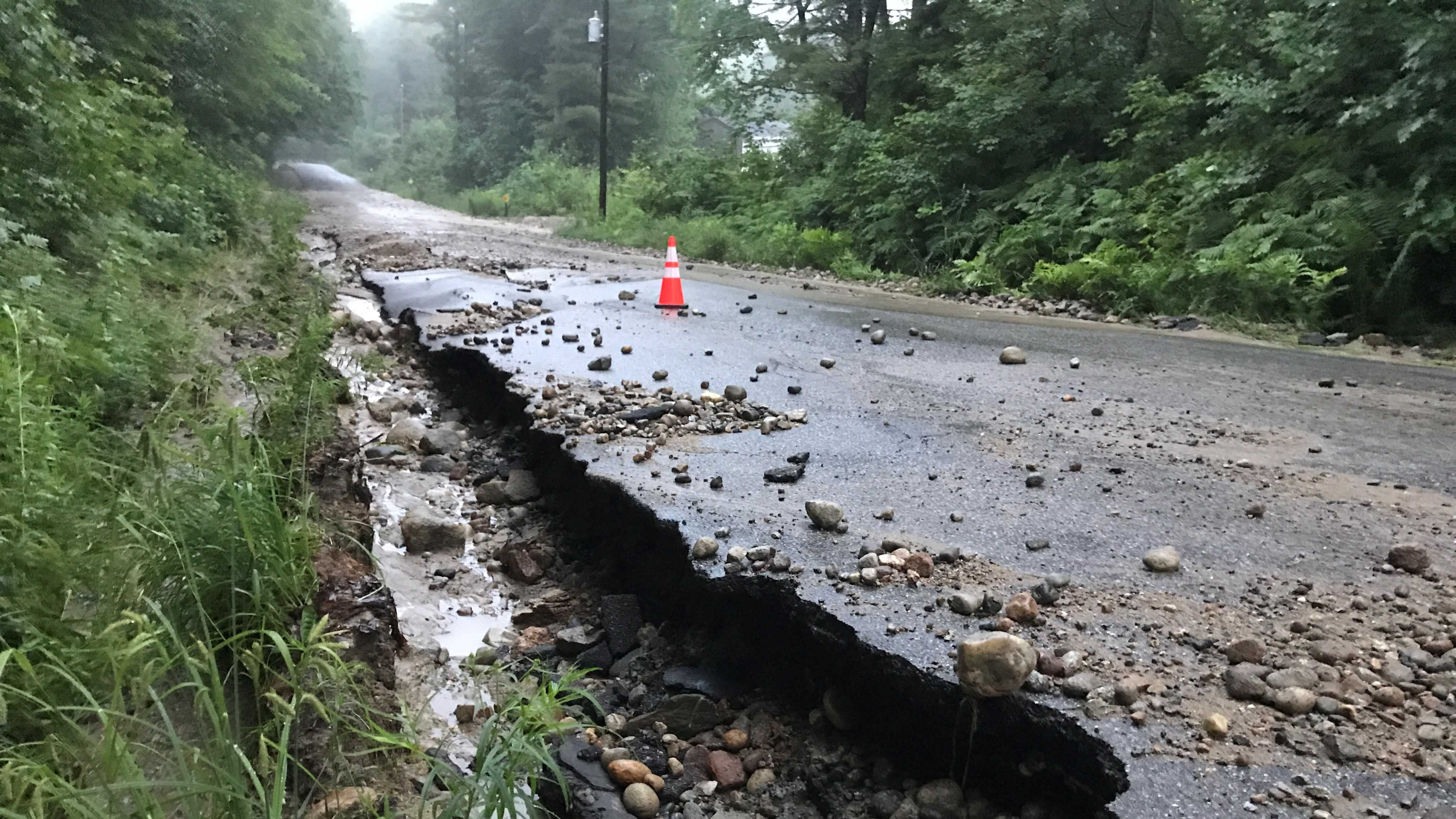 Waterford Damage