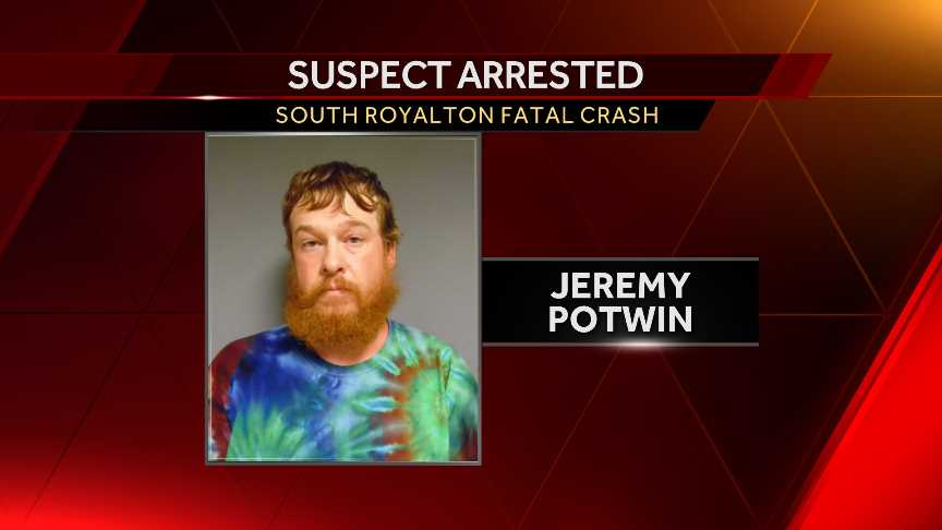 Suspect arrested in fatal crash