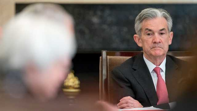 In this Monday, Nov. 30, 2015, file photo, Gov. Jerome Powell attends a Board of Governors meeting at the Marriner S. Eccles Federal Reserve Board Building in Washington.