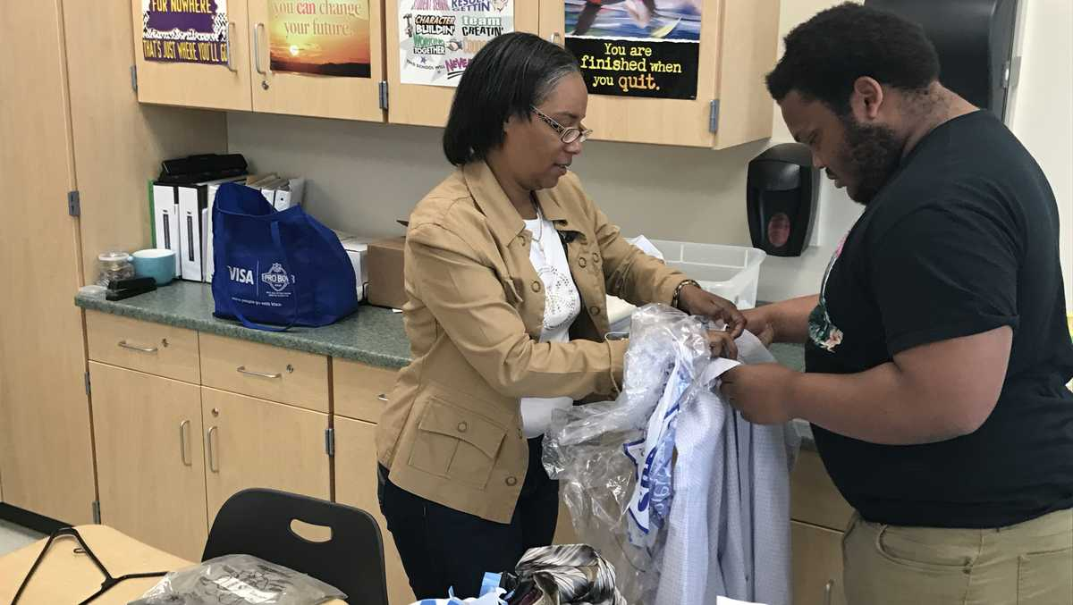 Taft teachers collect men's professional wear for students ...