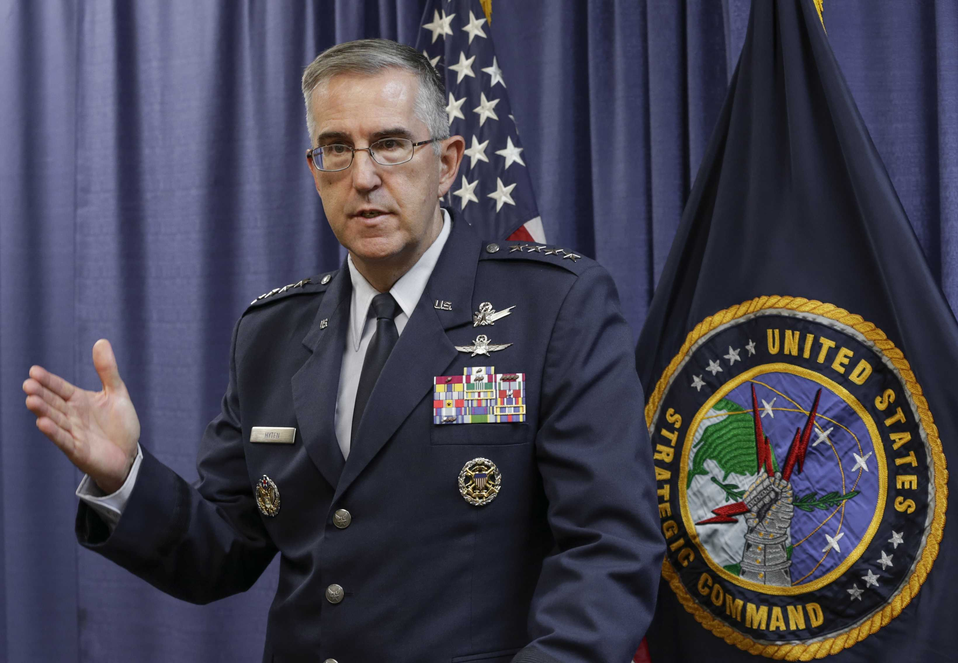 Top general says he'd push back against 'illegal' nuclear strike order