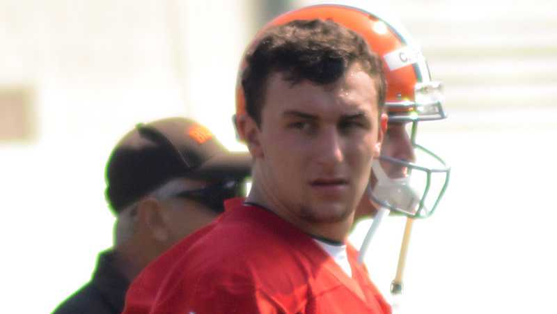 Johnny Manziel file photo