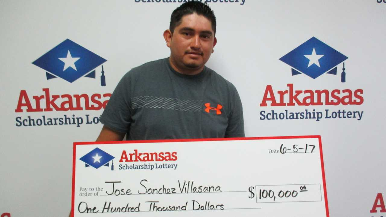 Lottery winner Jose Sanchez Villasana