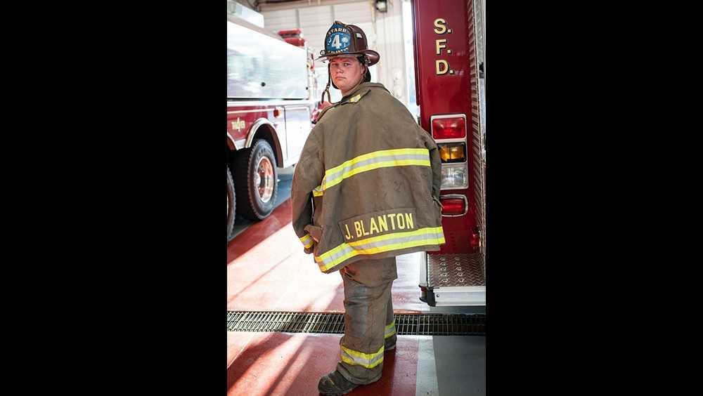 Firefighter Joseph Blanton
