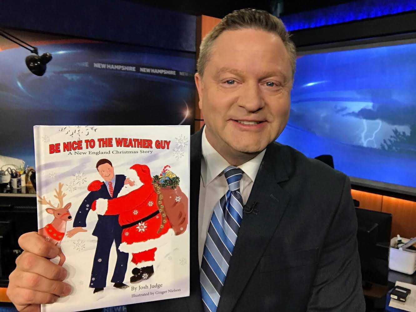 Meteorologist Josh Judge releases children's book to benefit CHaD
