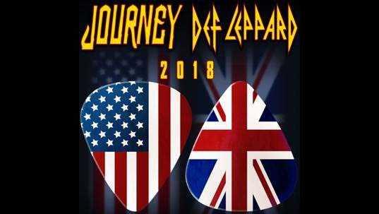 Journey, Def Leppard tour