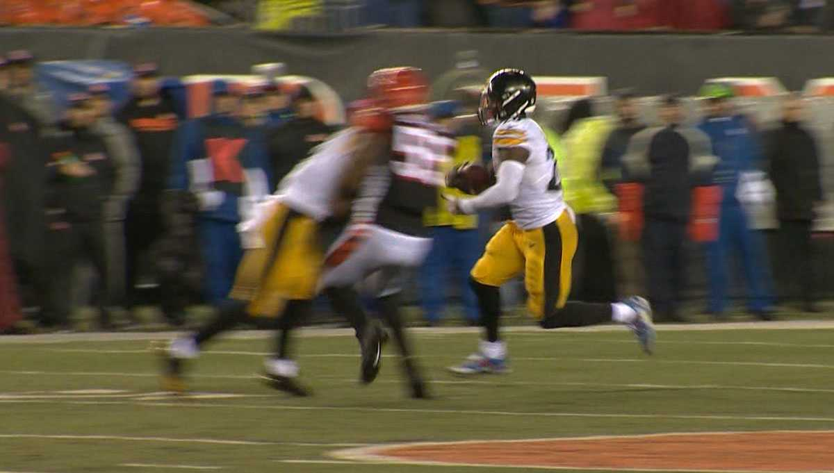 premium selection 06251 fc610 NFL suspends #Steelers JuJu Smith-Schuster for hit on ...