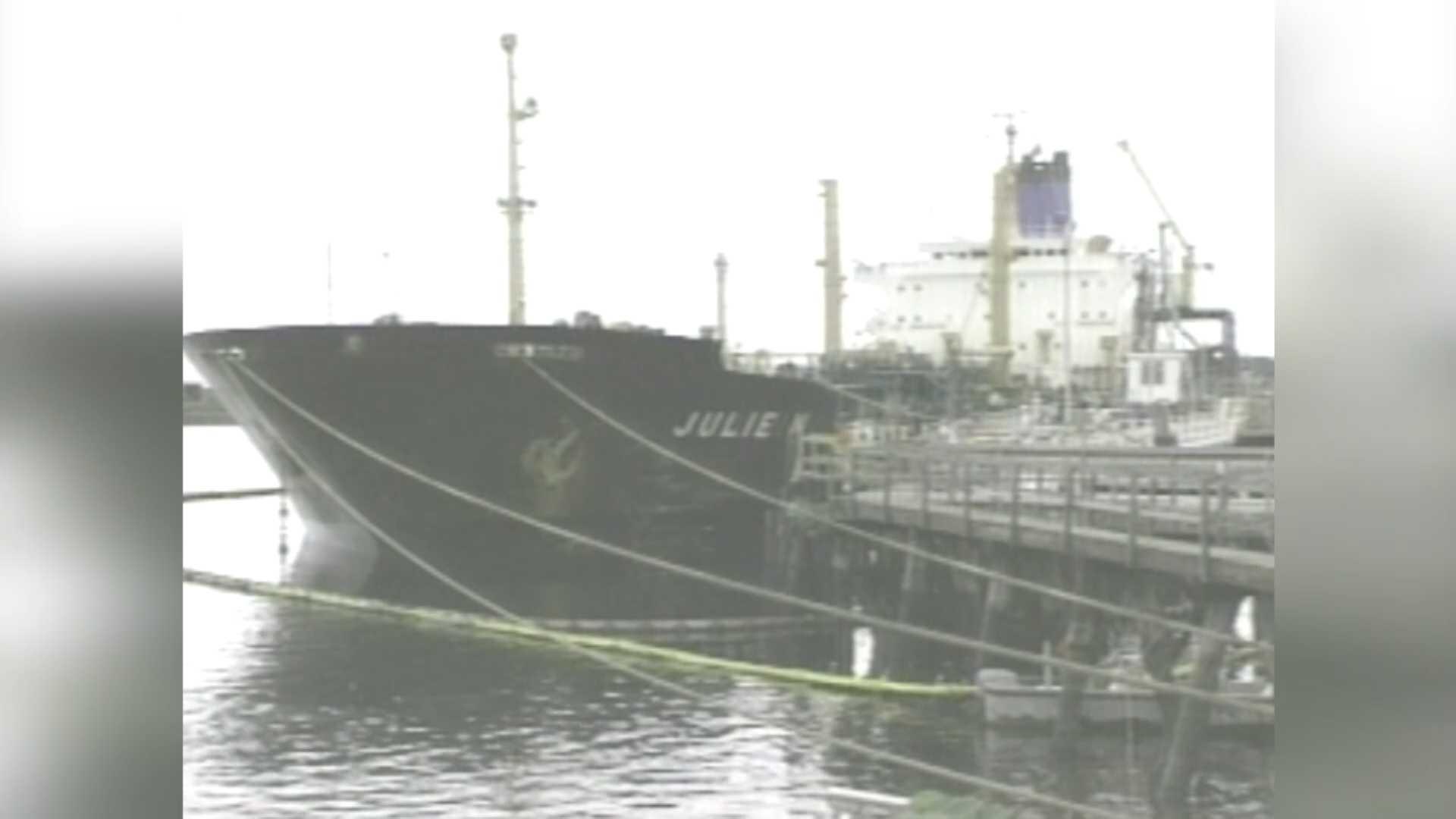 Julie N Oil Spill