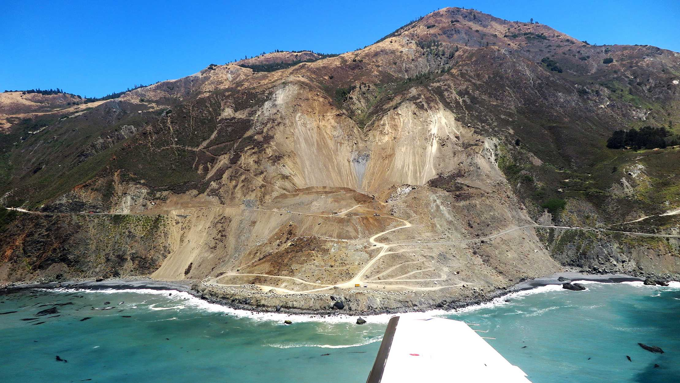 Mud Creek landslide