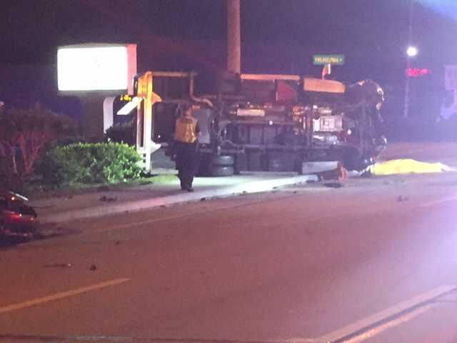 2 paramedics dead in rollover crash involving ambulance