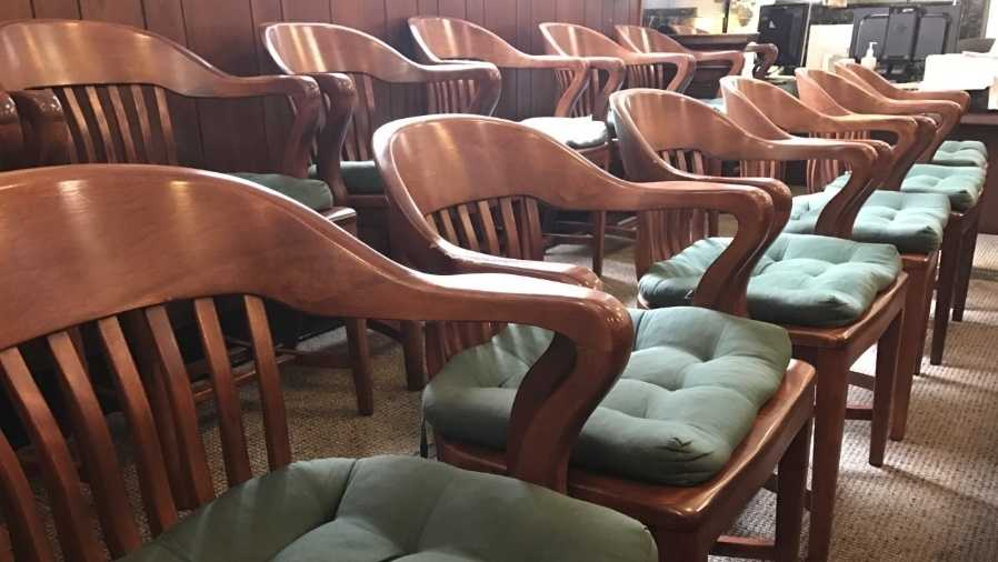 Jury chairs at Hamilton County Courthouse