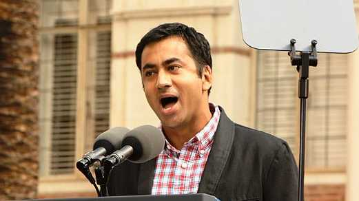 Actor Kal Penn speaks in October 2010.