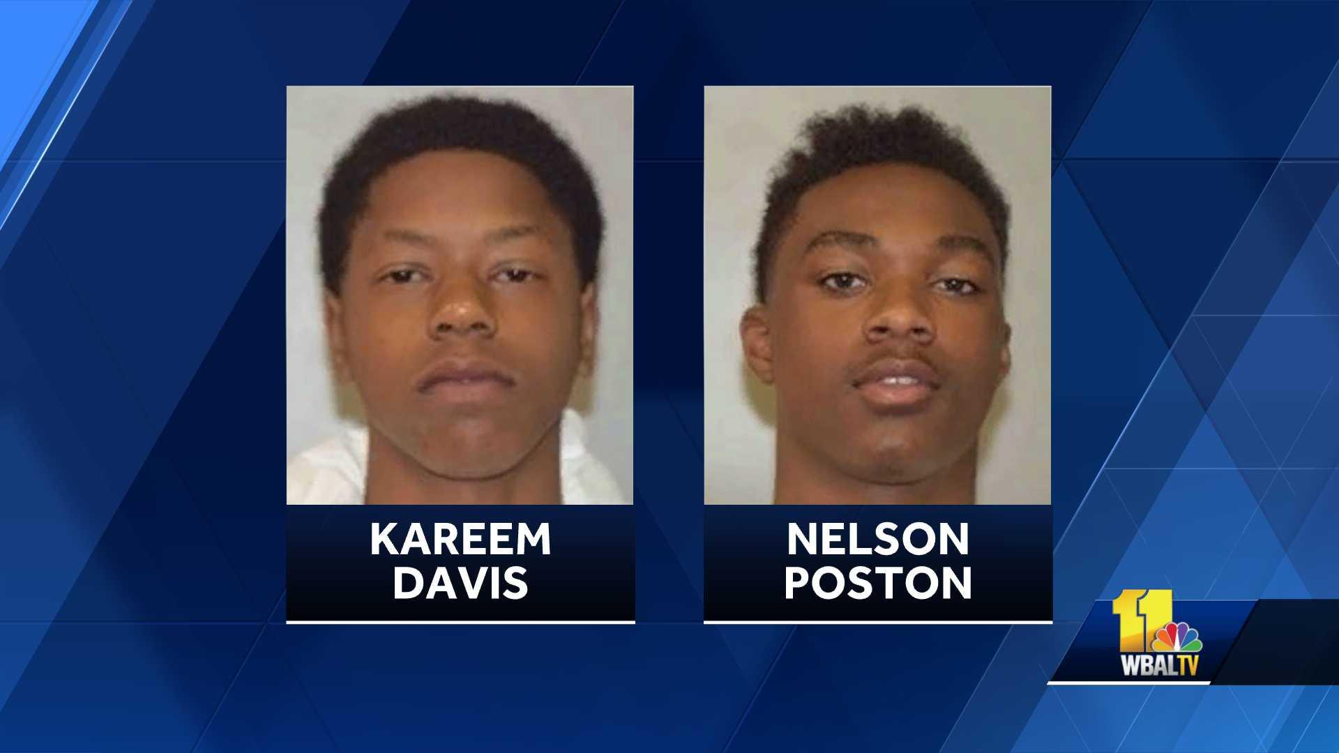 Kareem Davis, Nelson Poston