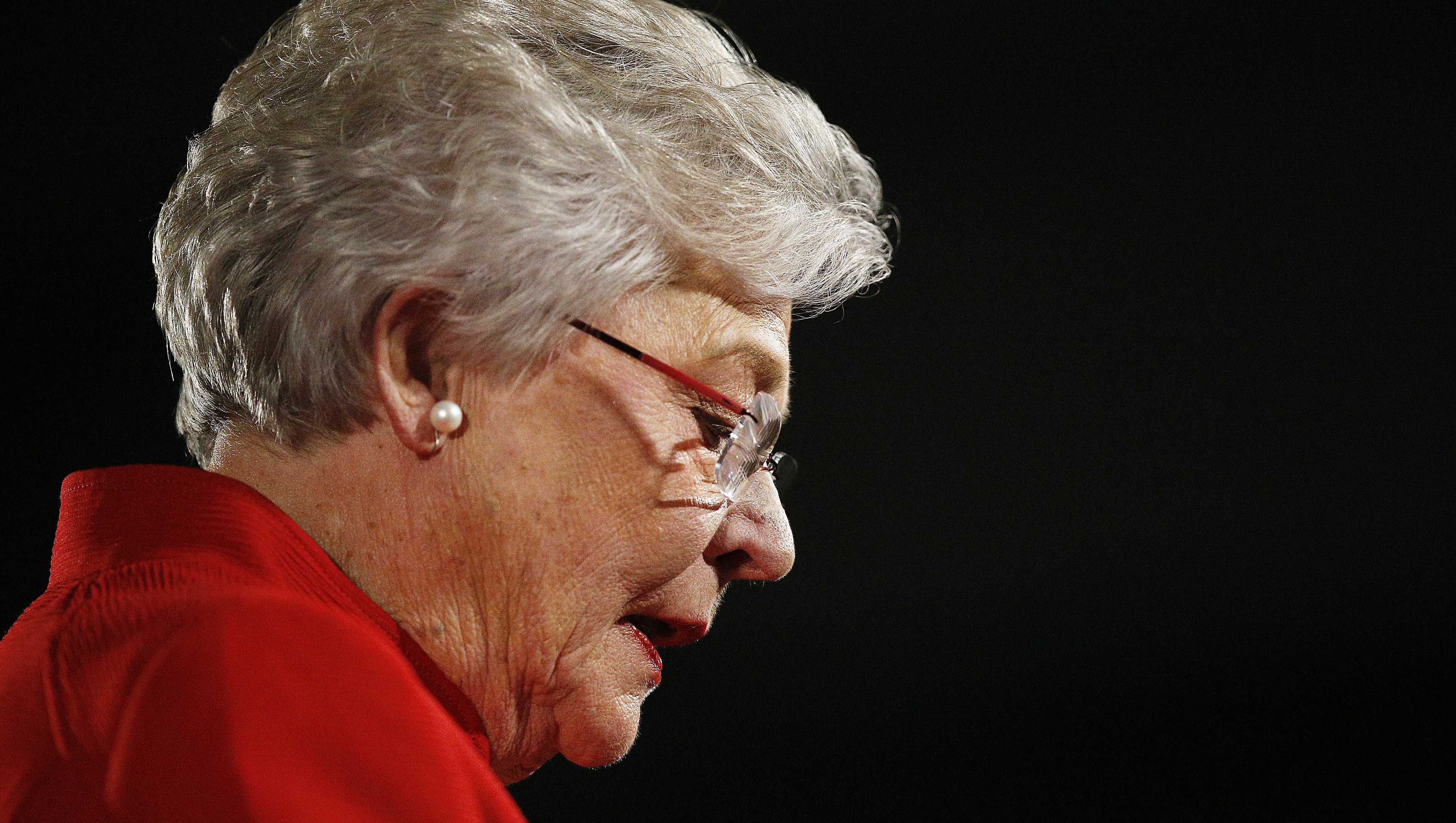 Alabama Gov. Kay Ivey at the Capitol, Tuesday, Jan. 9, 2018.
