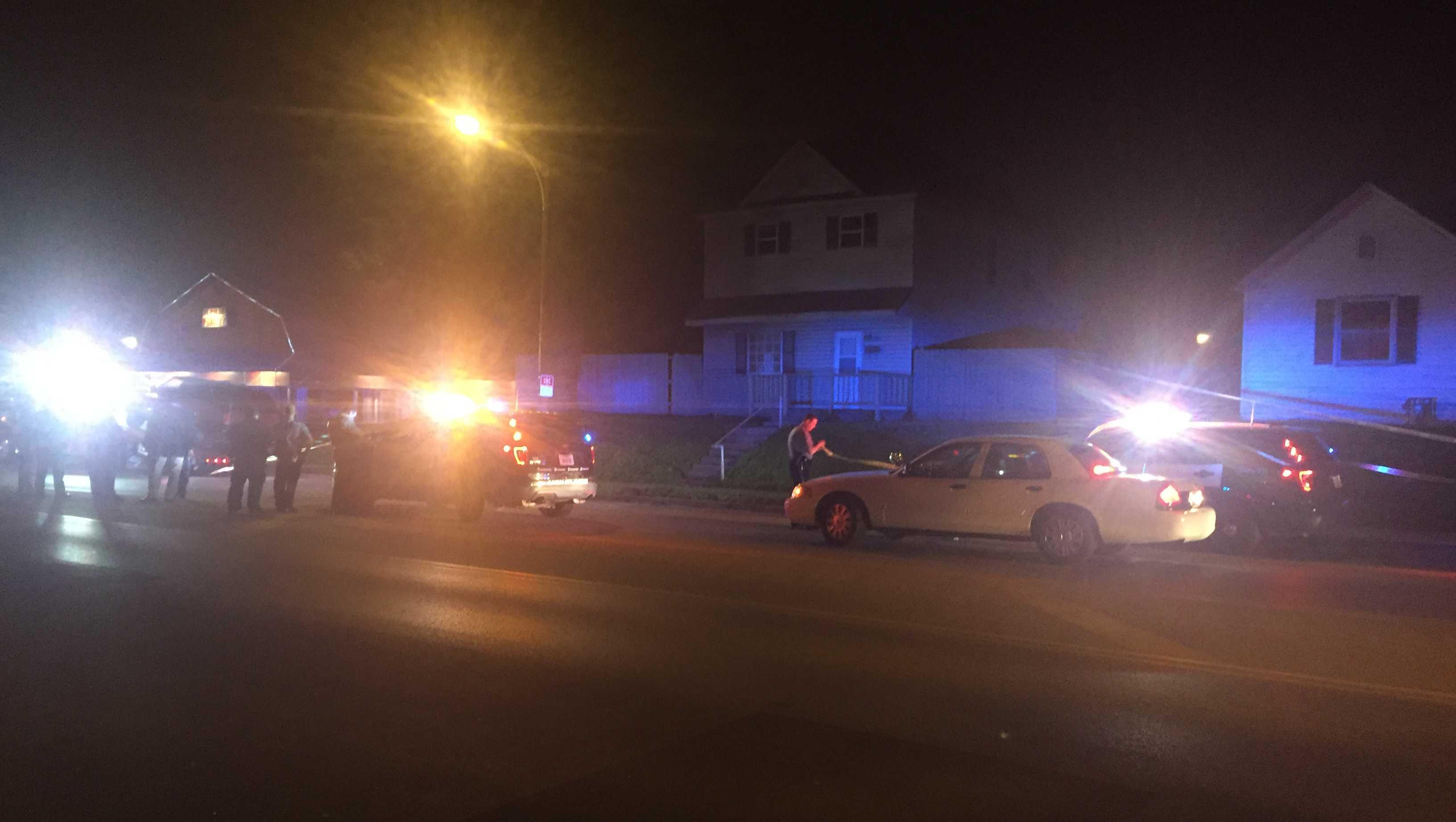 Woman shot to death in car, Kansas Avenue