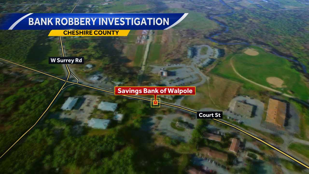 Keene police investigating bank robbery