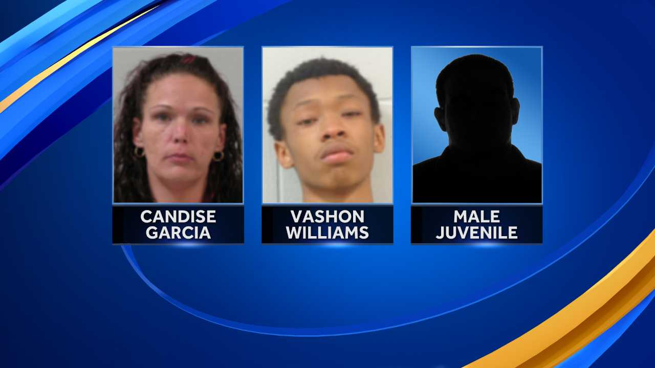 Three arrested after armed robbery in Keene