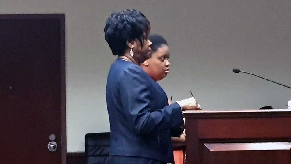 Kendra Mobley in court