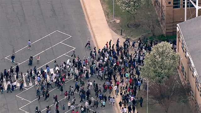 Kent Island High School Evacuation