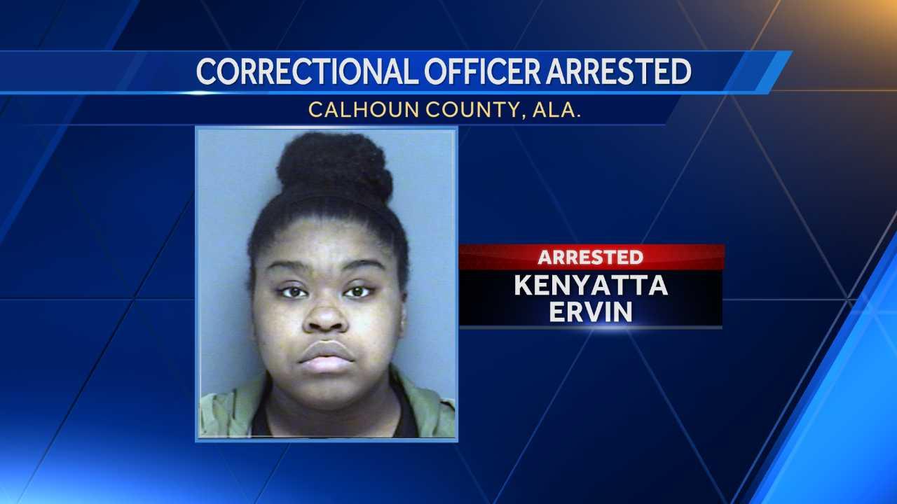 Correctional Officer Kenyatta Ervin