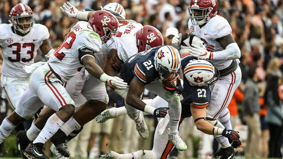 Auburn football vs Alabama on Saturday, November 25, 2017 in Auburn, Ala.