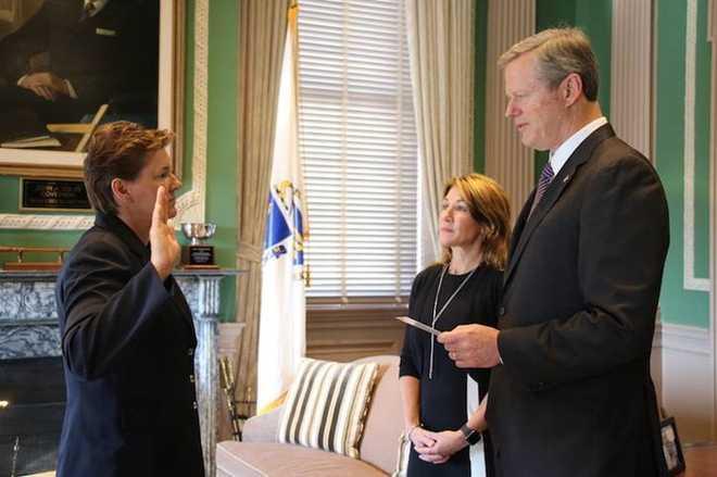 Kerry Gilpin sworn in