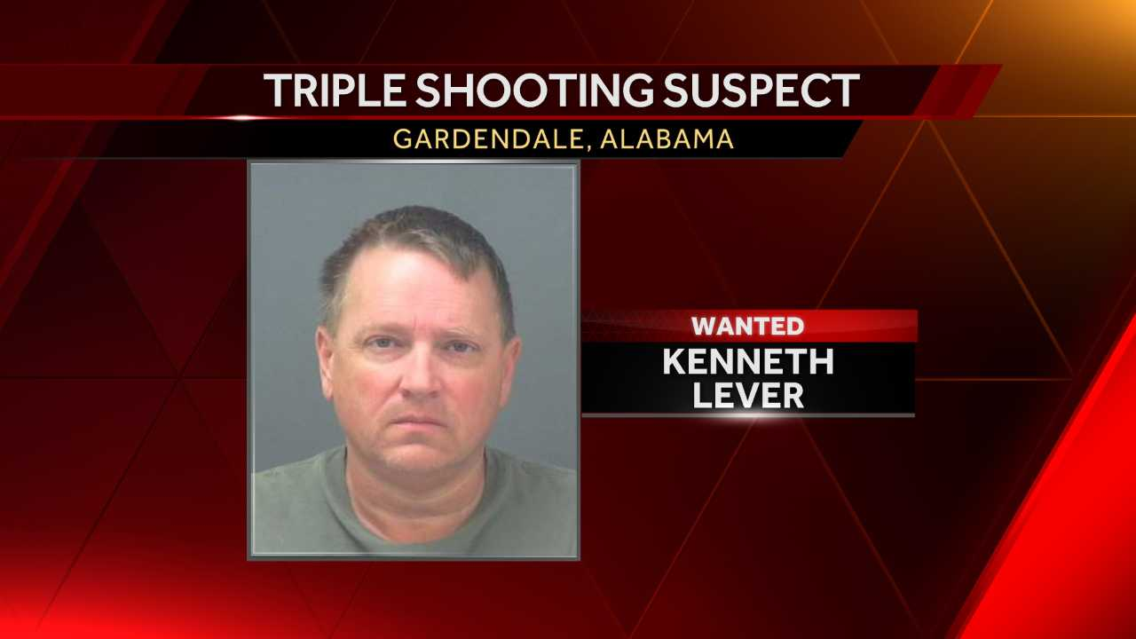 Active search underway for triple shooting suspect in Gardendale