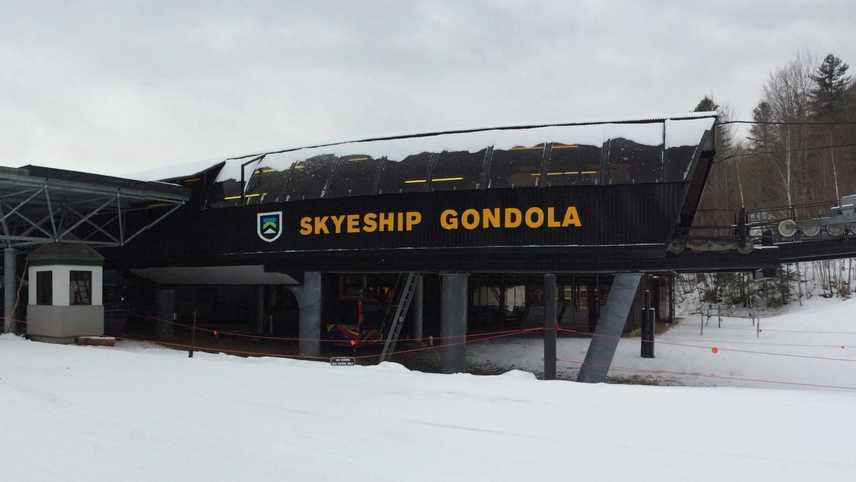 Killington Resort Skyeship Gondola Base
