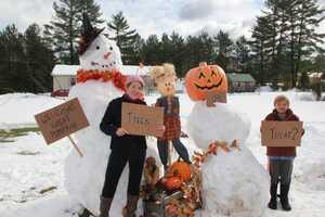 Halloween Snowstorm - Snowtober