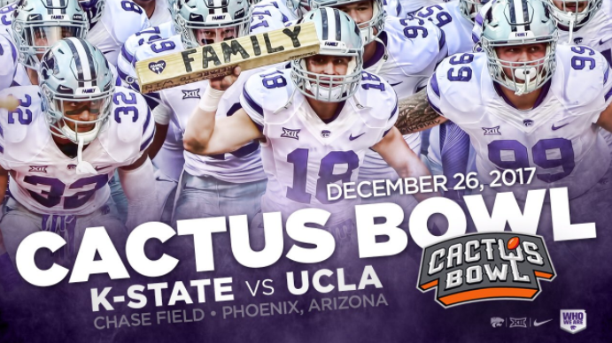 UCLA to face Kansas State in Cactus Bowl in Phoenix