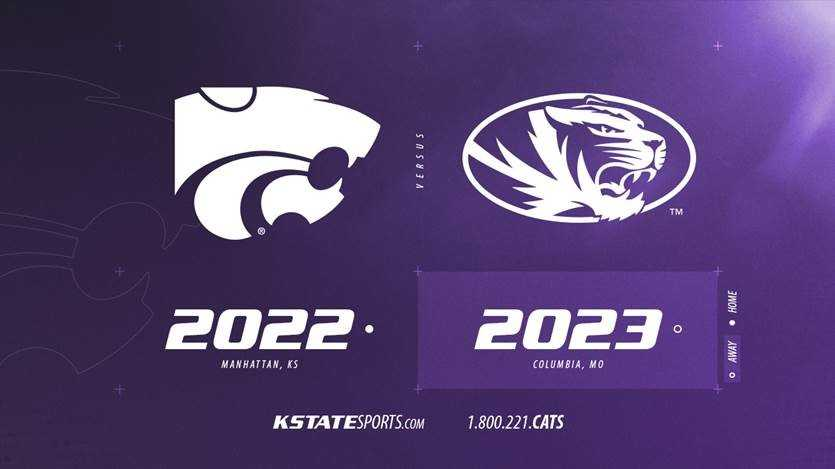 Kansas State, Mizzou to renew football rivalry in 2022, 2023