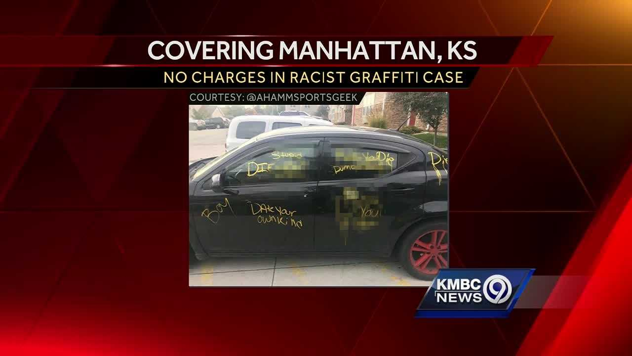 Man admits Manhattan racist graffiti story was made up