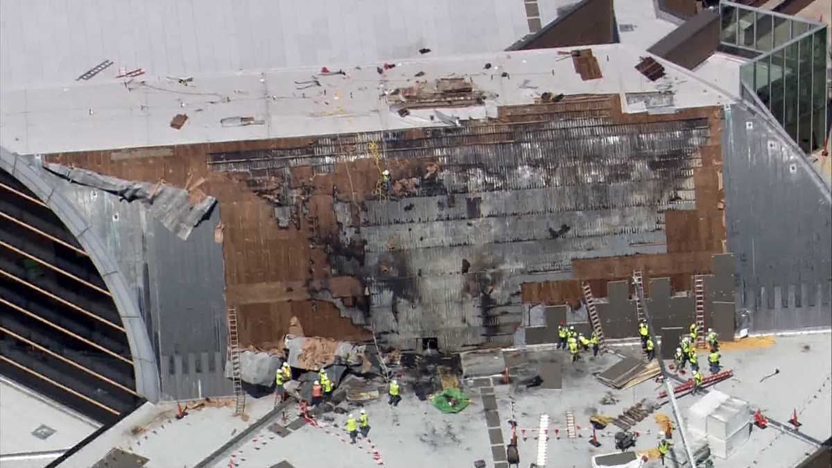 Kentucky Center For The Performing Arts Assessing Damage