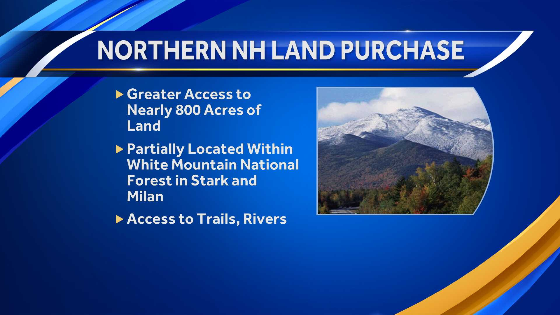 Land purchase protects 783 acres in northern New Hampshire