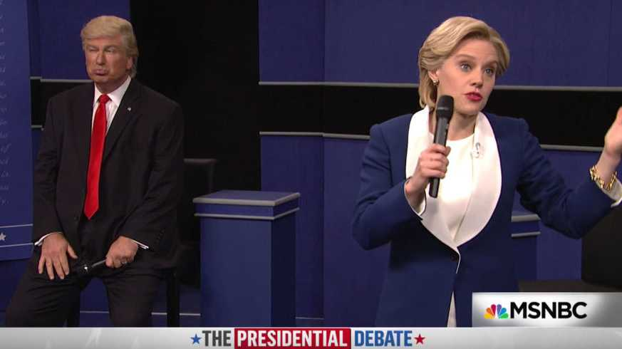 SNL spoofs second debate