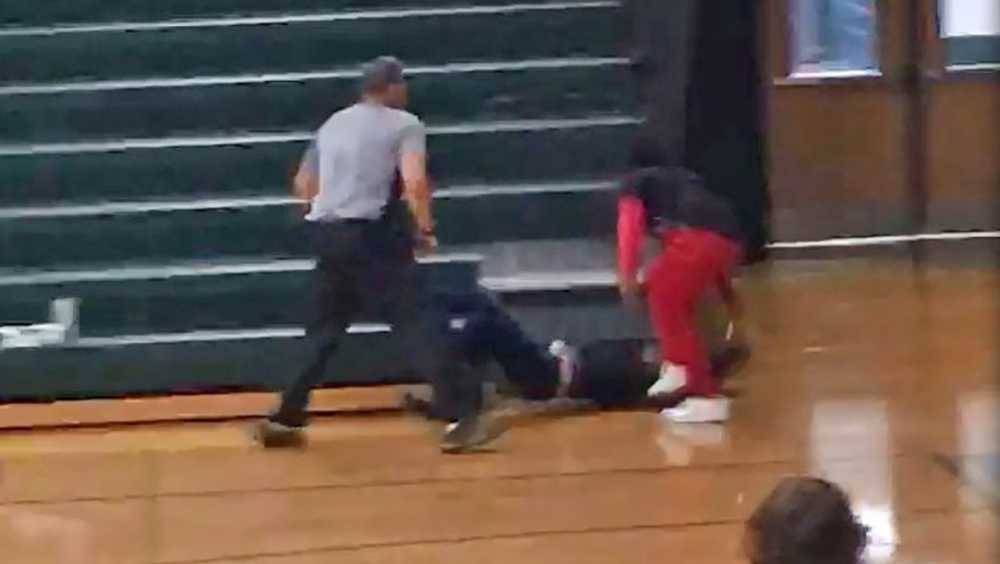 Laurens high school fight