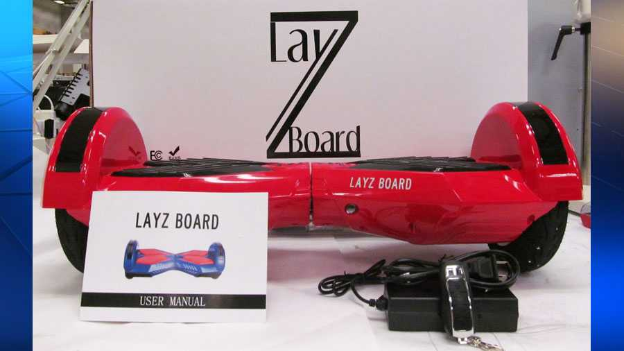 A LayZ Board hoverboard