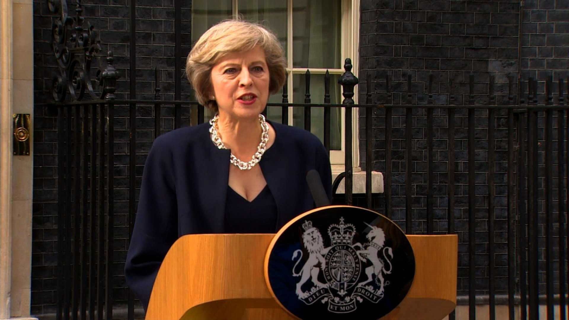United Kingdom leader meeting top European Union officials for Brexit working dinner