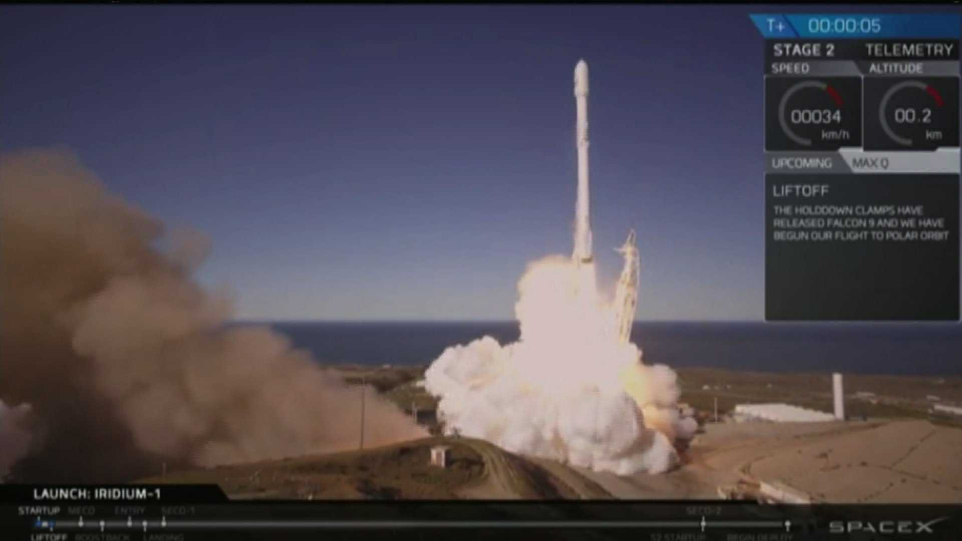 NRA spy satellite launched into orbit Monday by SpaceX
