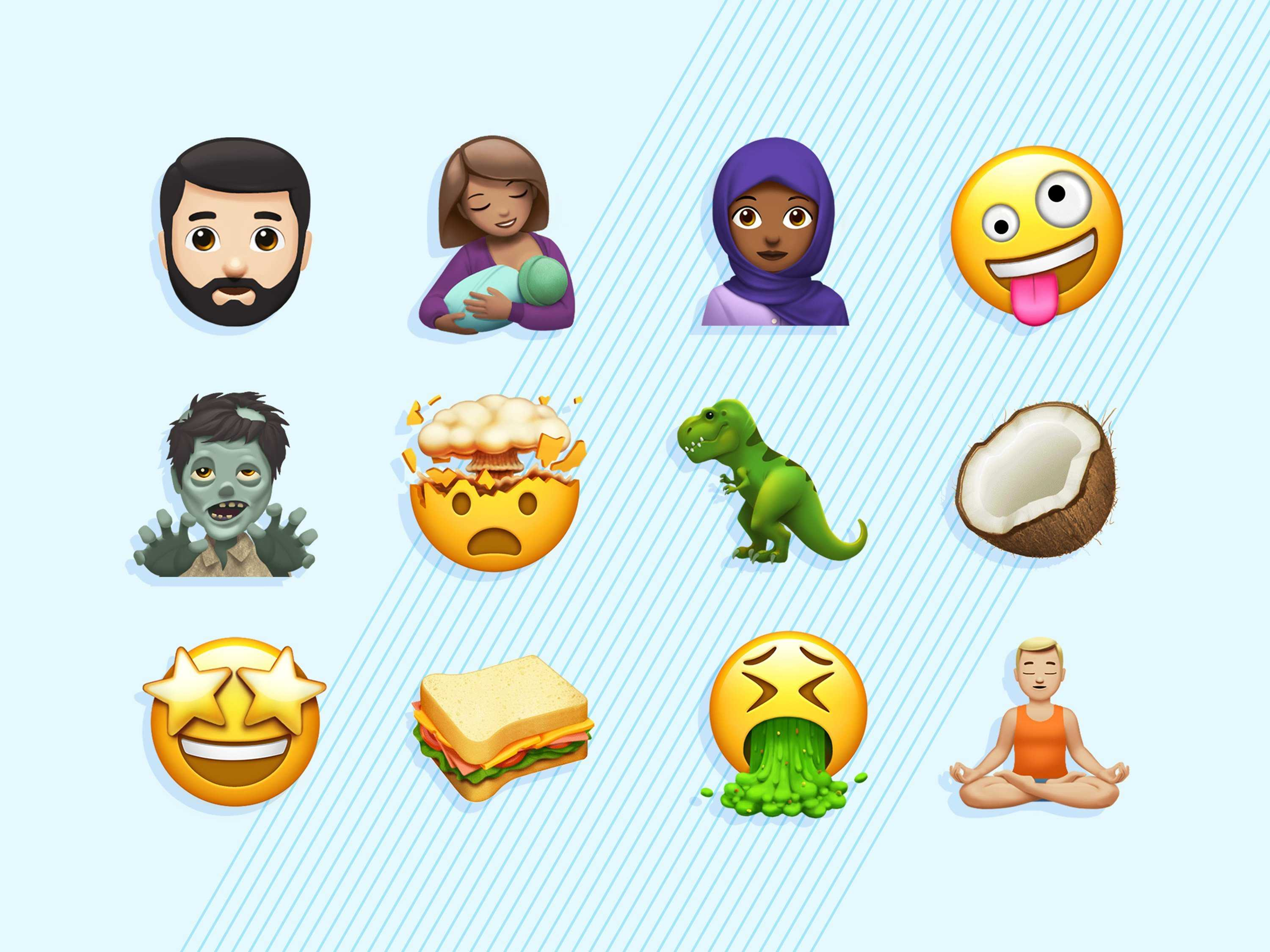 A Whole Set of New Emoji for Apple Devices