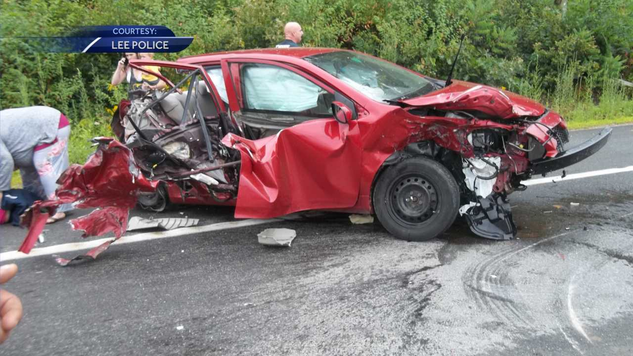 Several people transported to hospital after multi-car crash in Lee