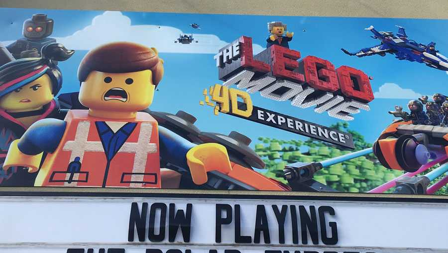 """The Lego Movie 4-D Experience"" at Kennywood Park."