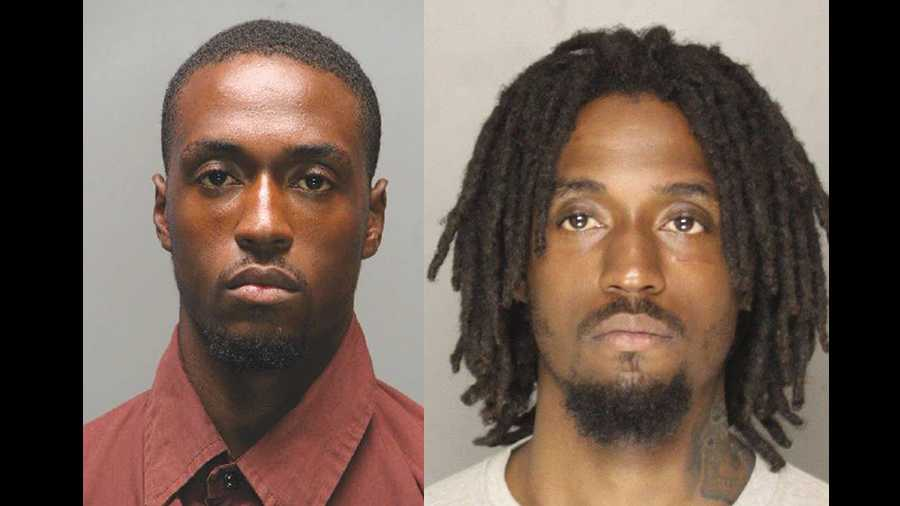 Lester Jackson, as seen in his U.S. Marshals' Most Wanted photo (left) and in a new mug shot after his arrest (right).
