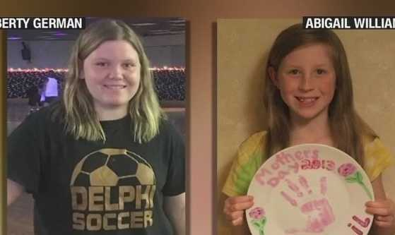 "The bodies of two missing Indiana girls found in the woods near a creek have been identified, and their deaths are being investigated as a double homicide, authorities said Wednesday, Feb. 15, 2017. Autopsy results released Wednesday confirmed the identities of the teens as Liberty ""Libby"" German, 14, and Abigail ""Abby"" Williams, 13."