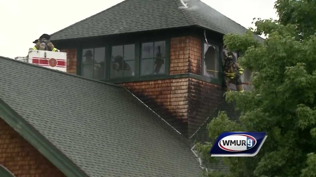 Hopkinton Town Library accepting donations after building damaged by lightning strike