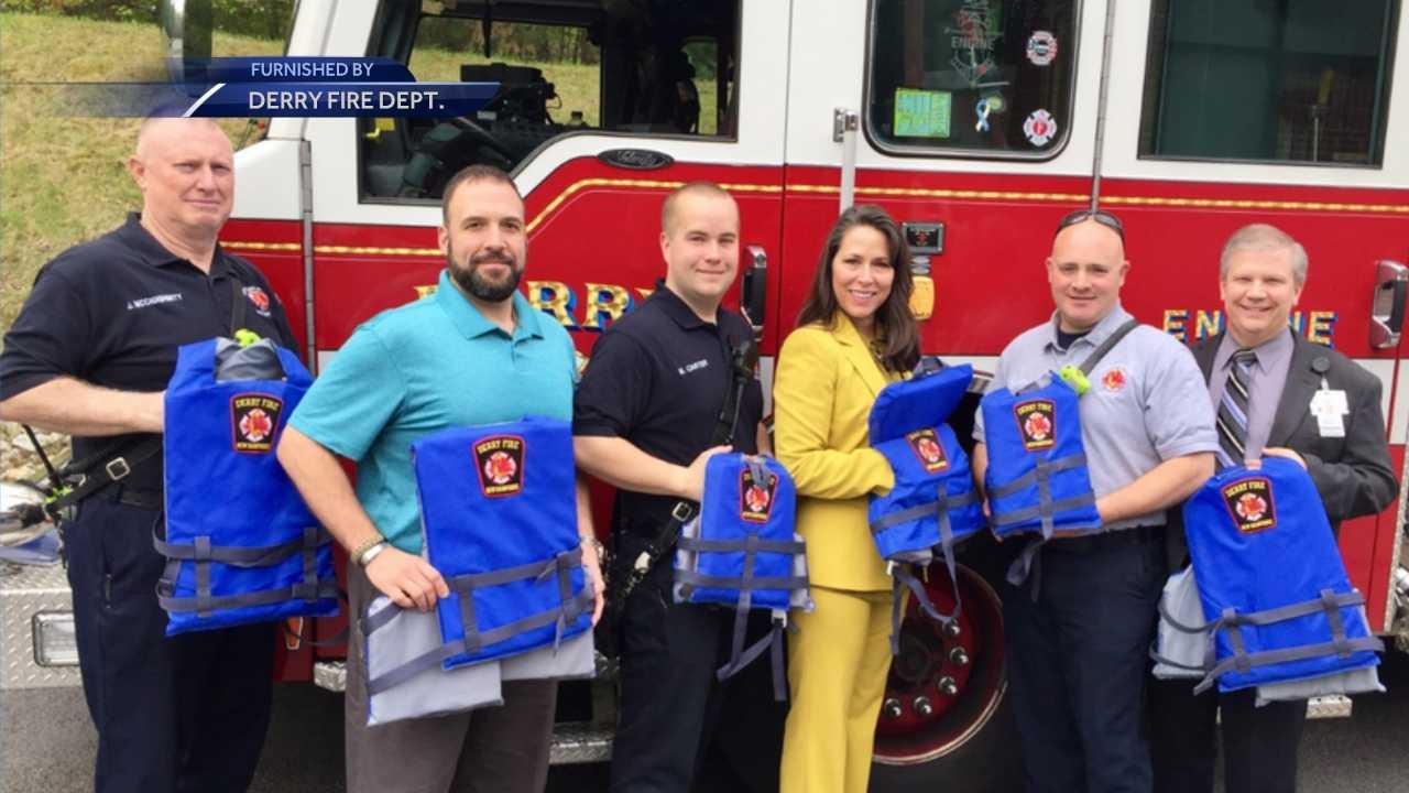 Derry establishes community loaner program for life jackets