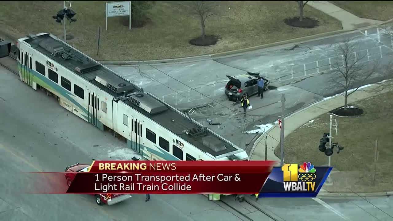 light rail crash