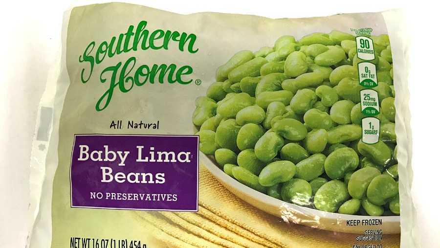 Lima bean recall