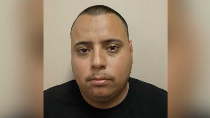Jorge Garcia Lagunas was arrested for driving under the influence and hit-and-run, police said.