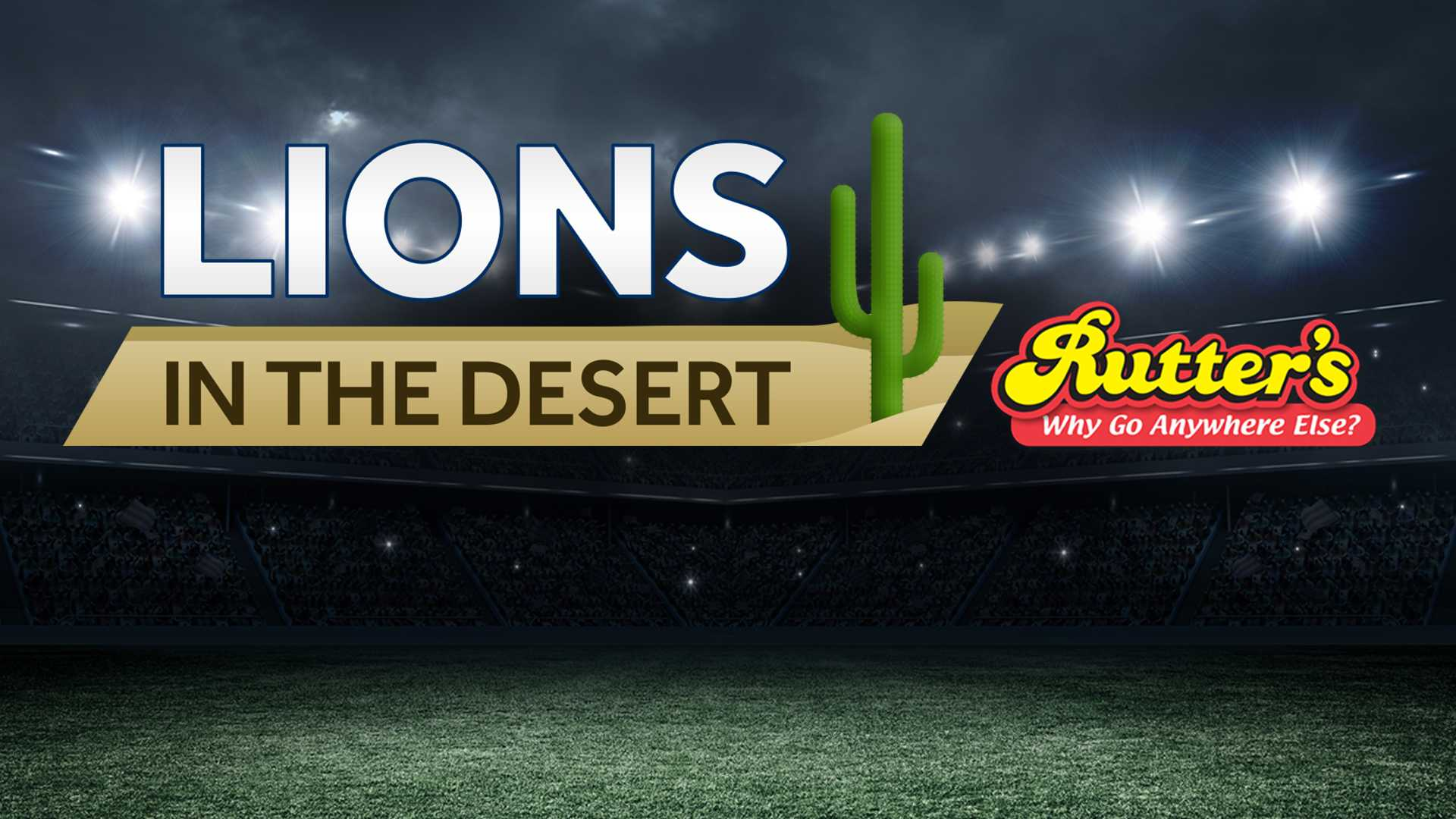 Lions in the Desert Fiesta Bowl
